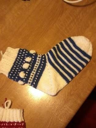 Makerist - Mystery Knit Along - Weihnachtssocke - 1