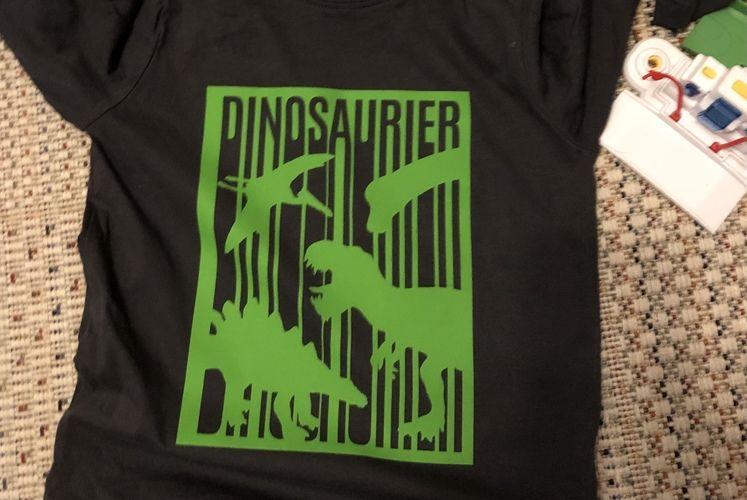 Makerist - Dinoplott - Textilgestaltung - 1