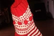 Makerist - Mystery Knit - Along  Weihnachtsstrumpf - 1