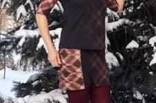 Makerist - Rock Alicia mit Shirt Bellis aus Baumwolljersey mit Farb- und Musterverlauf  - 1