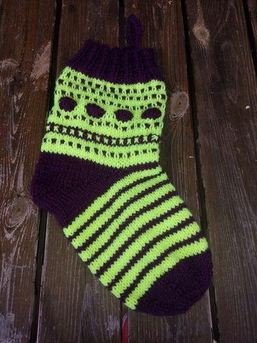 Makerist - Weihnachts Socke - Strickprojekte - 1