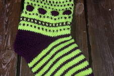 Makerist - Weihnachts Socke - 1