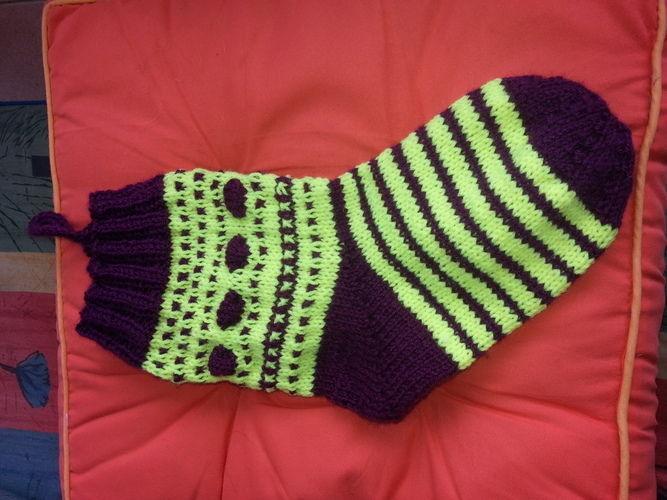 Makerist - Weihnachts Socke - Strickprojekte - 2