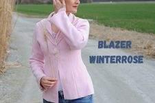 Makerist - Blazer Winterrose für Nähanfänger*innen - Damenjacke / Damenblazer aus Walk - 1