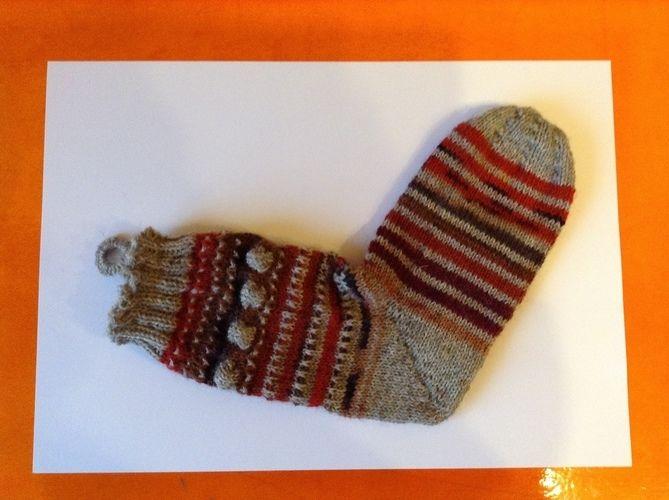 Makerist - Weihnachtsstrumpf aus dem Mysterie Knit-Along - Strickprojekte - 1