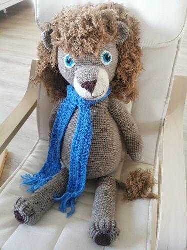 Makerist - Lío der Riesenlöwe für meinen Sohn  - Häkelprojekte - 1