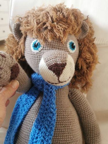 Makerist - Lío der Riesenlöwe für meinen Sohn  - Häkelprojekte - 2
