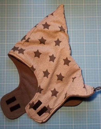 Makerist - Astronautenmütze aus Innenfutter Fleece und außen Jersey - Nähprojekte - 2
