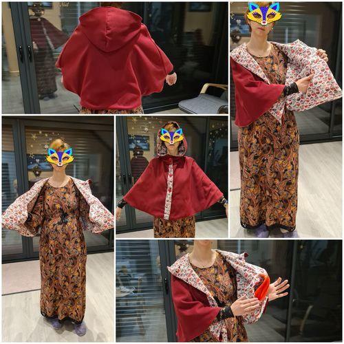 Makerist - cape courte femme  - Créations de couture - 1