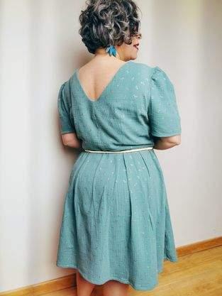 Makerist - Une robe esprit vintage  - 1