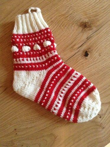 Makerist - Meine Mystery Socke vom Weihnachts Knit Along 2014 - Strickprojekte - 1