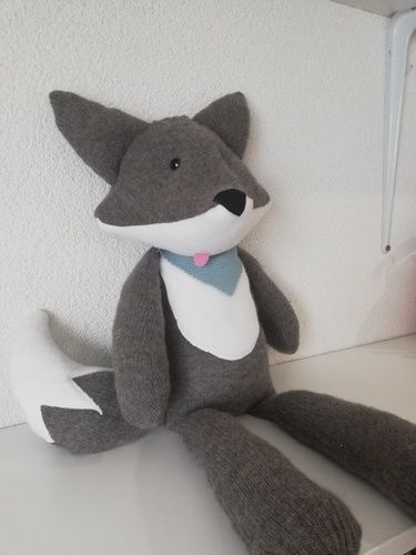 Makerist - Fox from cashmere - Nähprojekte - 1