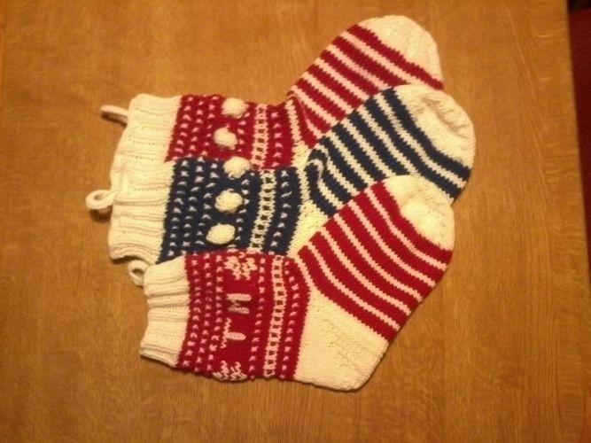 Makerist - Mystery Knit Along - Weihnachtssocke  - Strickprojekte - 1