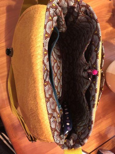 Makerist -  besace Tairie en simili cuir - Créations de couture - 2