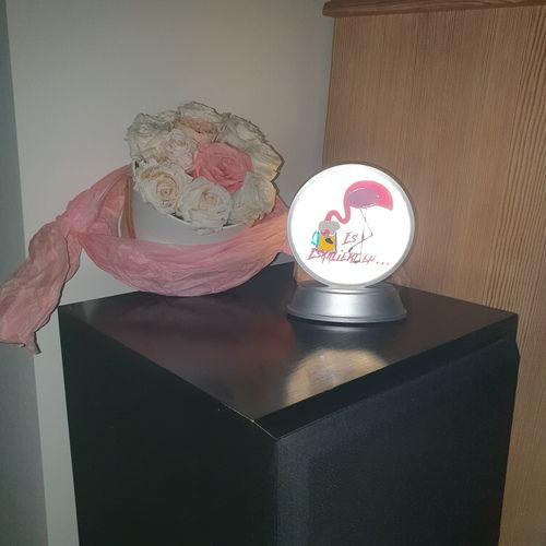 Makerist - Eskaliert eh auf meine Relaxlampe mit Vinyl zur Deko - DIY-Projekte - 3