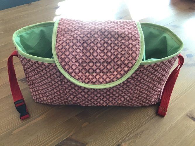 Makerist - Kinderwagen Tasche Organizer  - Nähprojekte - 1