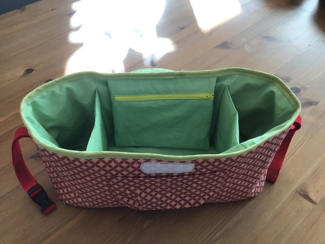 Makerist - Kinderwagen Tasche Organizer  - Nähprojekte - 2