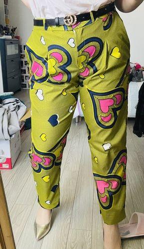 Makerist - Pantalon de tailleur en Wax - Créations de couture - 2