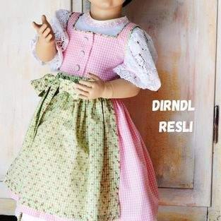Makerist - Dirndl Resli aus Webware für Kinder - 1