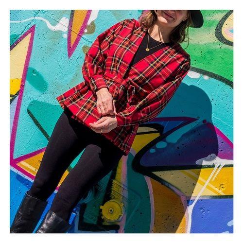 Makerist - Gilet Isidore - Petit Patron Couture - Tartan - Créations de couture - 1