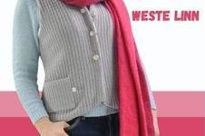 Makerist - Weste Linn mit Kapuze aus Strickstoff/Teddystoff - für Damen - 1