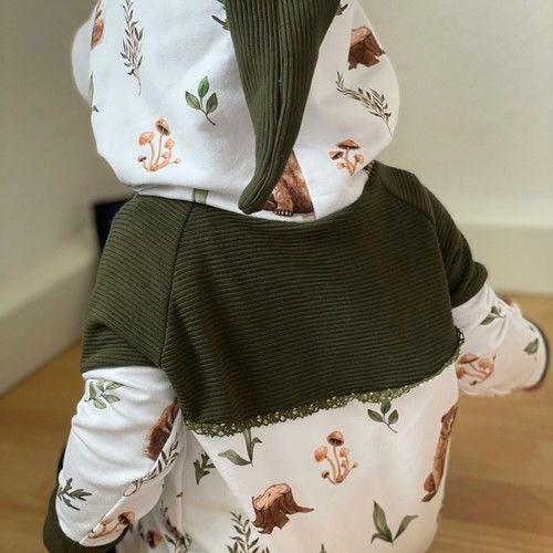 Makerist - Shirt Sarayu mit Zipfelkapuze oder Stehkragen aus Jersey für Kinder - Nähprojekte - 2