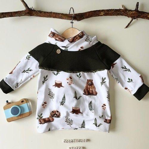Makerist - Shirt Sarayu mit Zipfelkapuze oder Stehkragen aus Jersey für Kinder - Nähprojekte - 3
