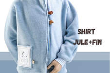 Makerist - Fledermausshirt Jule + Fin aus Jersey für Kinder  - 1