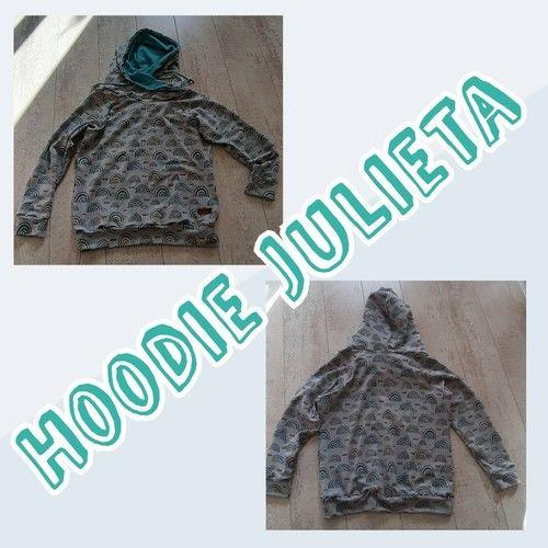 Makerist -  Hoodie Julieta  - Nähprojekte - 1