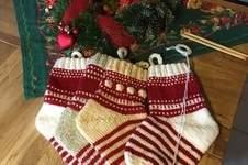 Makerist - Knit-Along ............Weihnachtssocke... - 1