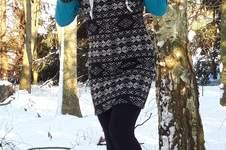 Makerist - Raglan- Kleid Matilda als kuschliges Winterkleid - 1