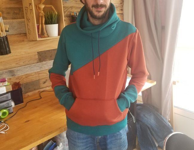 Makerist - Sweat homme ou ado - Créations de tricot - 1