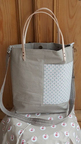 Makerist - Lia Bag aus festem Baumwollstoff - Nähprojekte - 1