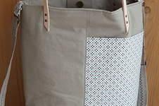 Makerist - Lia Bag aus festem Baumwollstoff - 1