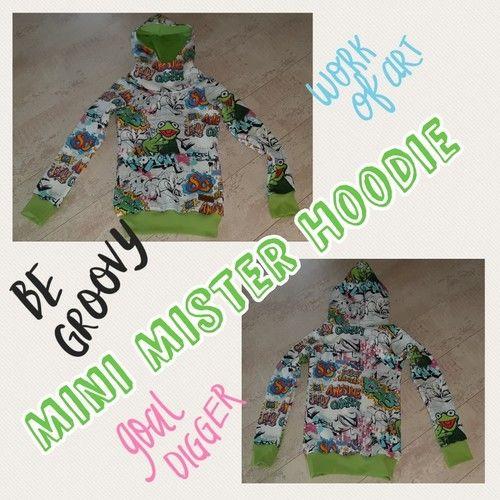Makerist - Mini Mister Hoodie  - Nähprojekte - 1