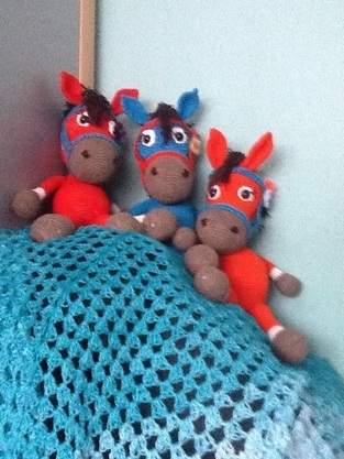 Makerist - Pferde RapunzelLampen und Mützen  - 1