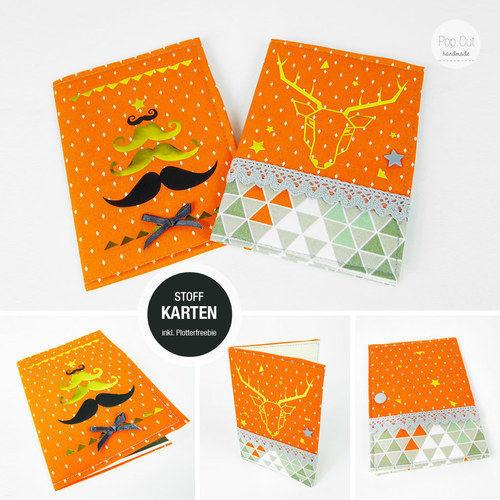 Makerist - Weihnachtskarte inkl. Plotterfreebie - Nähprojekte - 1