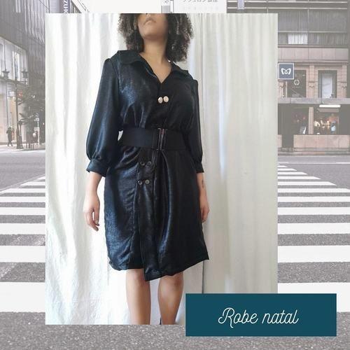 Makerist - Robe natal noire irisée - Créations de couture - 1