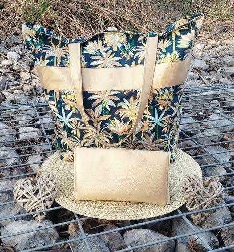 Makerist - Sac Panama, tissus et simili, pour l anniversaire de ma sœur aînée 🥰 - Créations de couture - 1