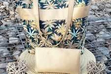 Makerist - Sac Panama, tissus et simili, pour l anniversaire de ma sœur aînée 🥰 - 1