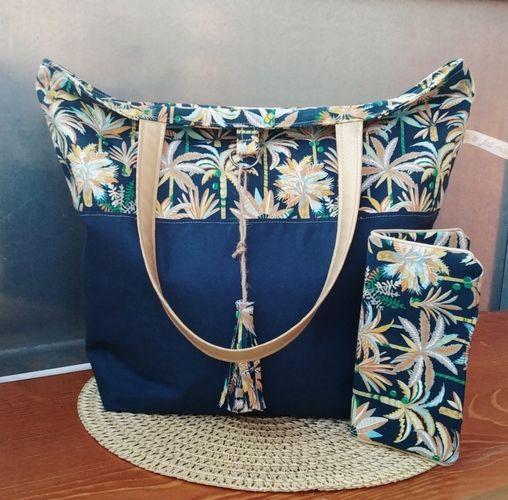 Makerist - Sac Panama, tissus et simili, pour l anniversaire de ma sœur aînée 🥰 - Créations de couture - 3