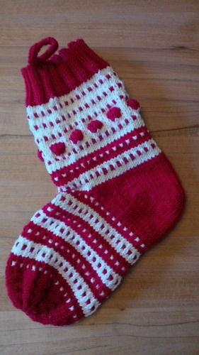 Makerist - Weihnachtssocke - Strickprojekte - 1