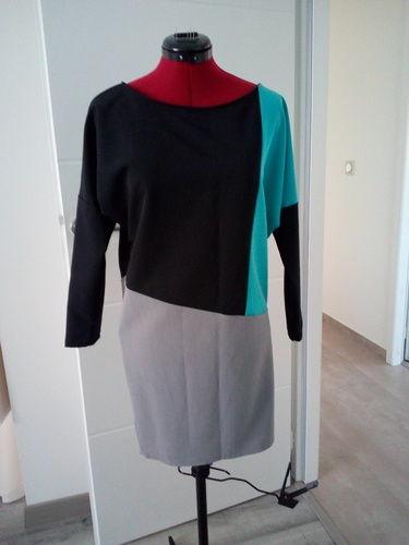 Makerist - Robe tricolore - Créations de couture - 1