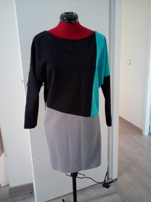 Makerist - Robe tricolore - 1
