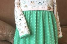 Makerist - Mustermix mit Waldtieren - komplett in Jersey für mein jüngstes Enkelkind - 1