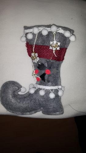 Makerist - ein Nikolausstiefel - Nähprojekte - 1