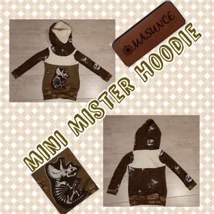 Makerist - Mini Mister Hoodie  - 1