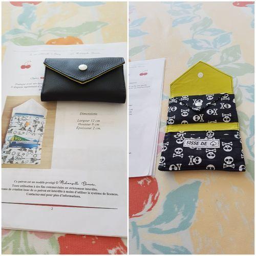 Makerist - mini portefeuille cherry taille 1 - Créations de couture - 1