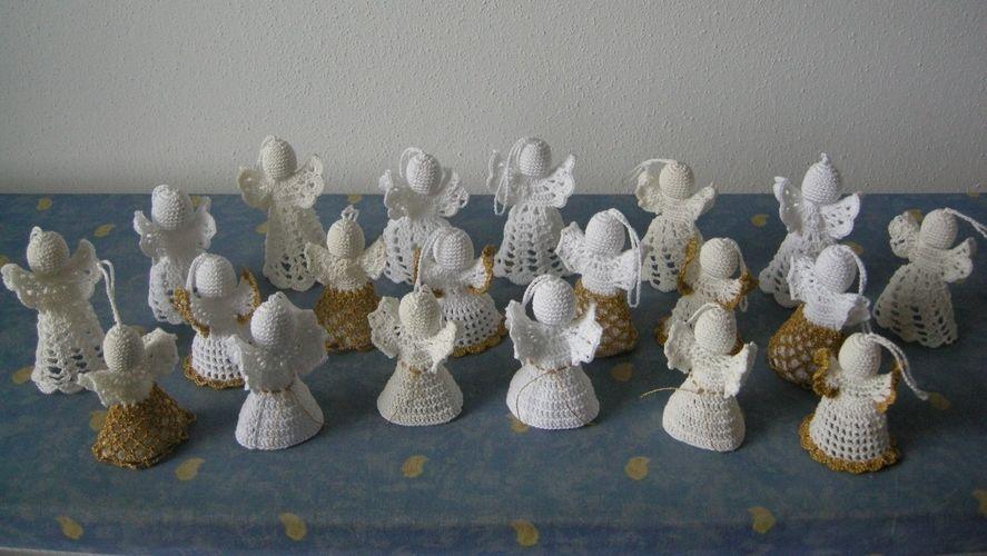Makerist - 20 kleine Engelein - Häkelprojekte - 1