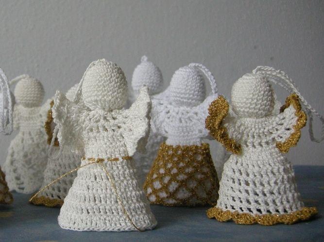 Makerist - 20 kleine Engelein - Häkelprojekte - 3